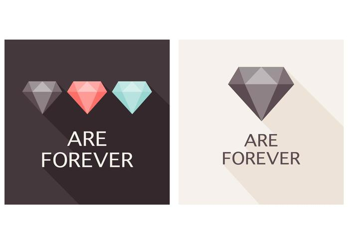 Flat Diamonds are Forever PSD Background