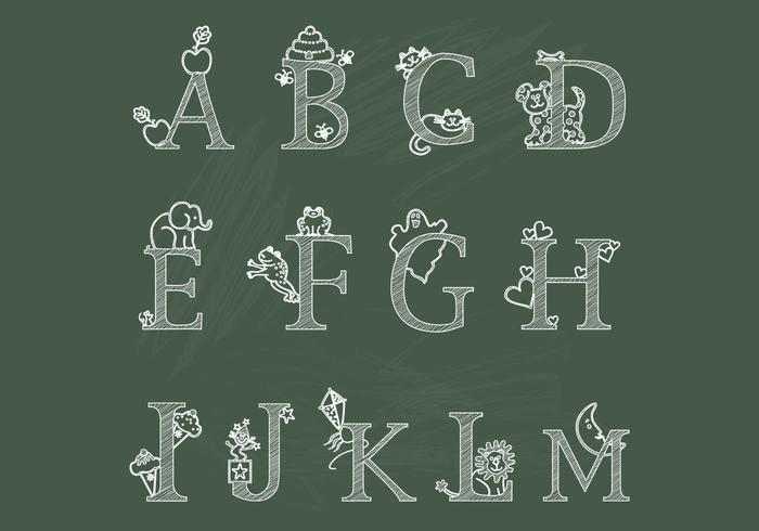 Krebs Kinder Alphabet AM Bürsten