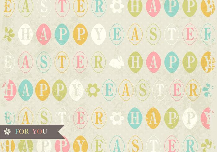 Grungy easter psd background