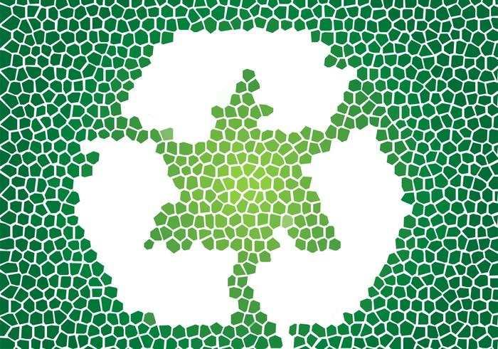 Mosaic Recycle PSD