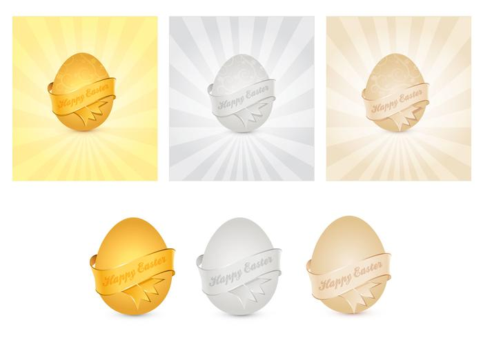 DPS Golden, Silver et Bronze Easter Egg PSD