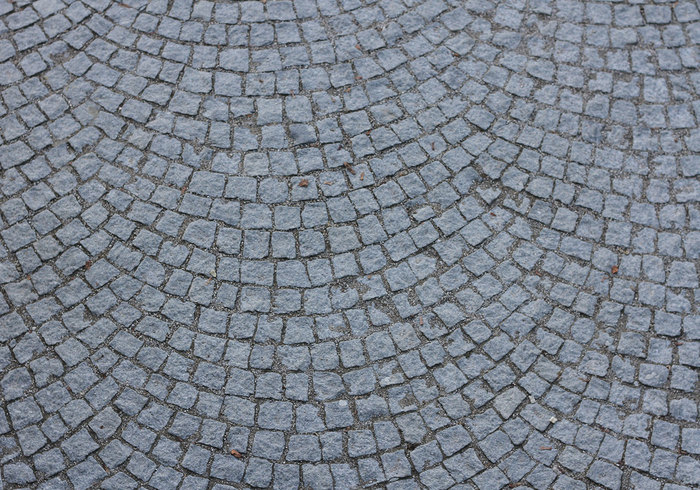 Fanned Cobble Stone Texture