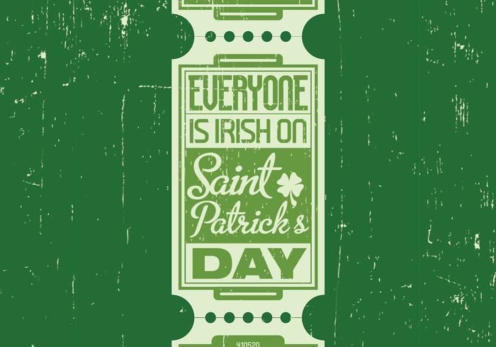 Contexte PSD du jour de la Saint-Patrick irlandais