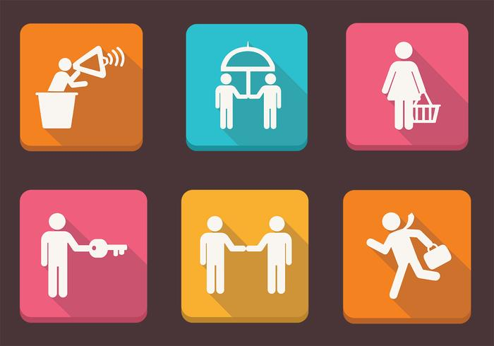 Business People Icons II PSD Pack