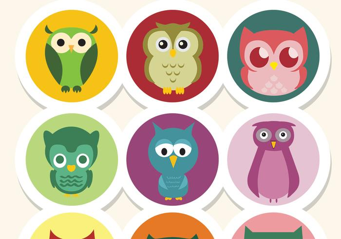 Cute Owl PSD Pack