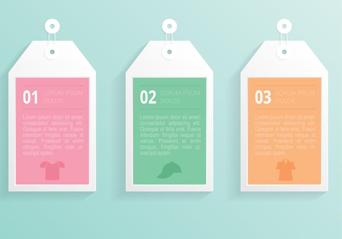 Modern Label Tag PSD Template