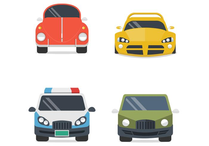 Various Cars PSD Set