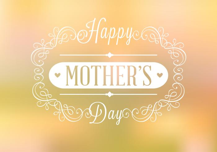 Happy Mother's Day Background PSD