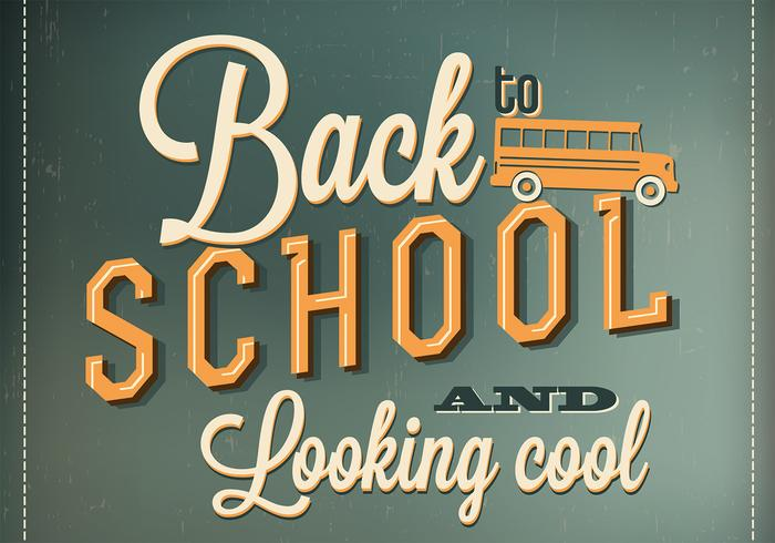 Back to School Wallpaper PSD