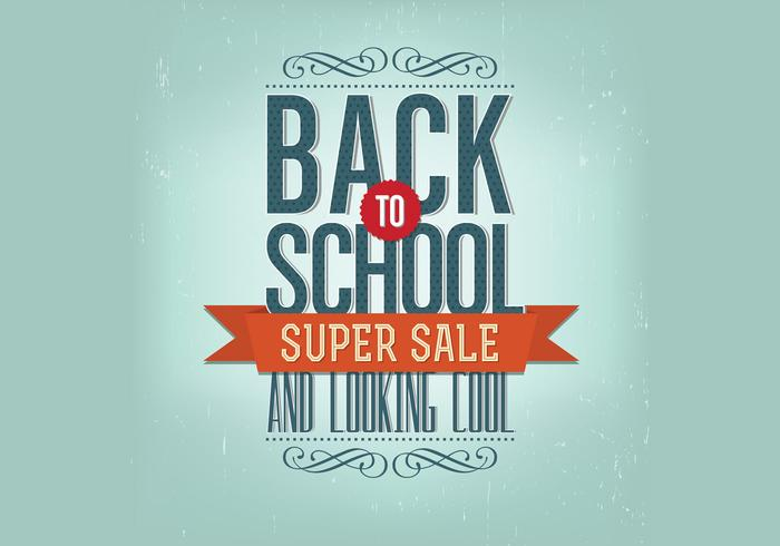 Retro back to school psd background