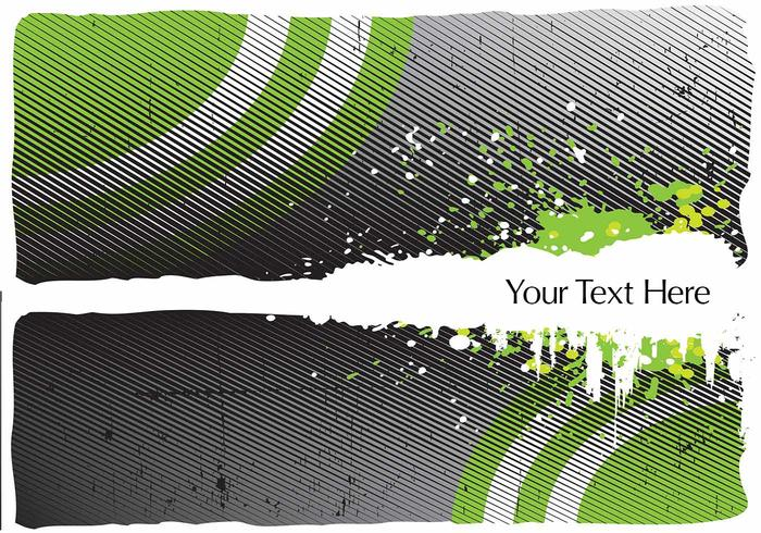 Green Halftone Background PSD