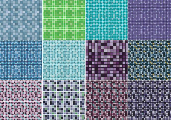 Pixel Geometric Pattern Pack