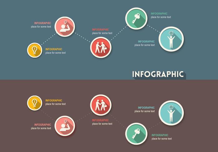 Kreativ infografisk psd
