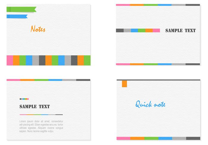 Modern Card Templates PSD Set