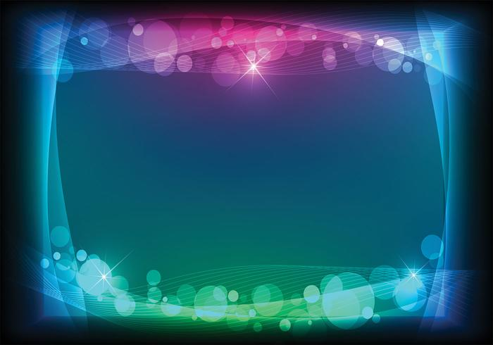 Bokeh Light Background PSD