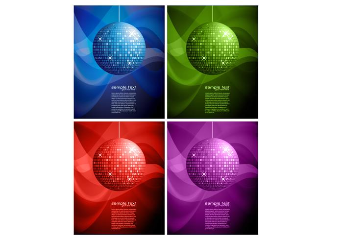 Disco Ball Backgrounds Deux PSD