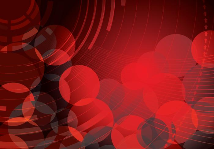 Red Abstract Circle Background Deux PSD