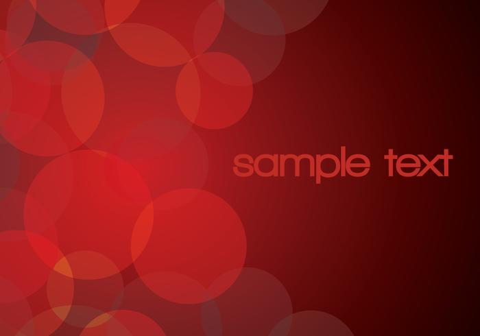 Red Glowing Circle Background PSD