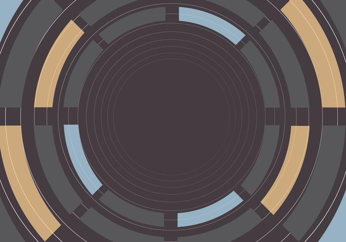 Abstract Circle Background PSD