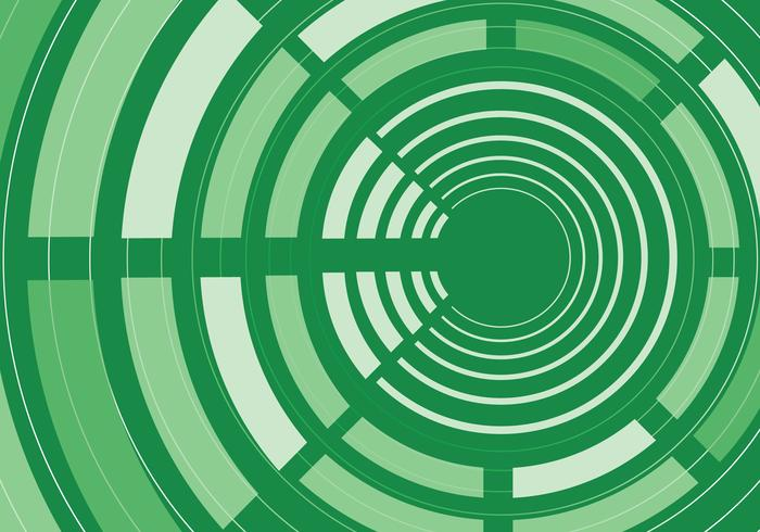 Green Abstract Circle Background PSD