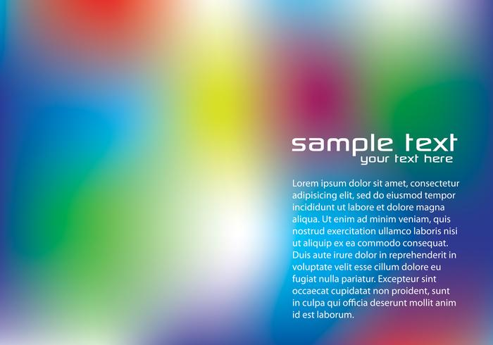 Blurry Rainbow Background PSD