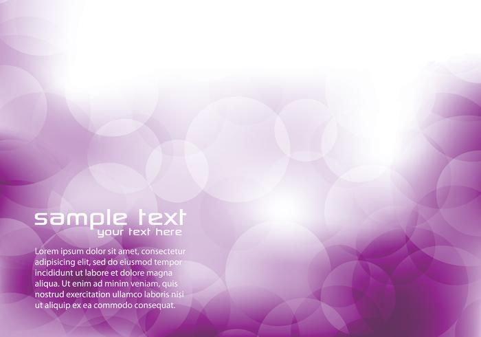 Purple Bokeh background psd