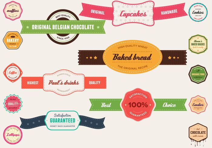 Vintage Banner & Badge PSD Pack