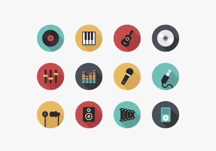 Music Icon PSD Pack