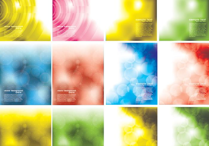 Resumo Bokeh Background PSD Pack