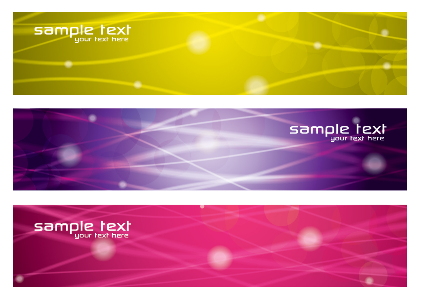 Line Texture Psd : Colorful glowing lines banners psd pack free photoshop