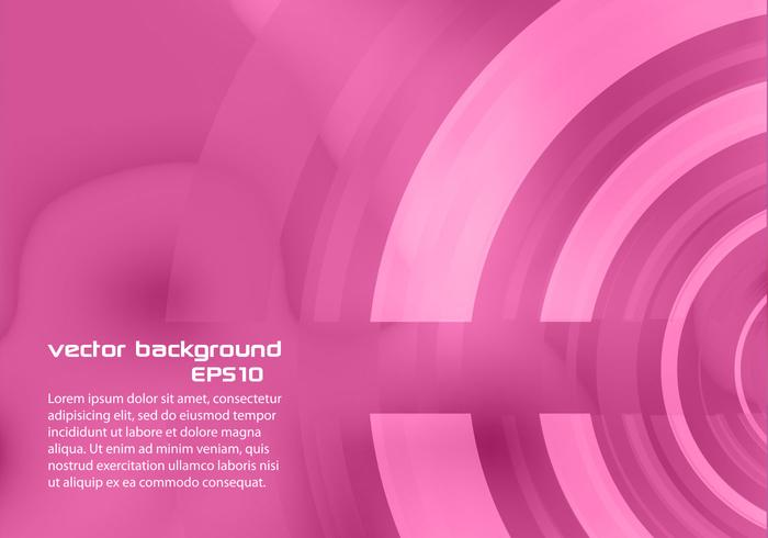 Pink Abstract Circle Hintergrund PSD