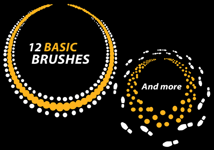 Premium Basic Circle Brushes