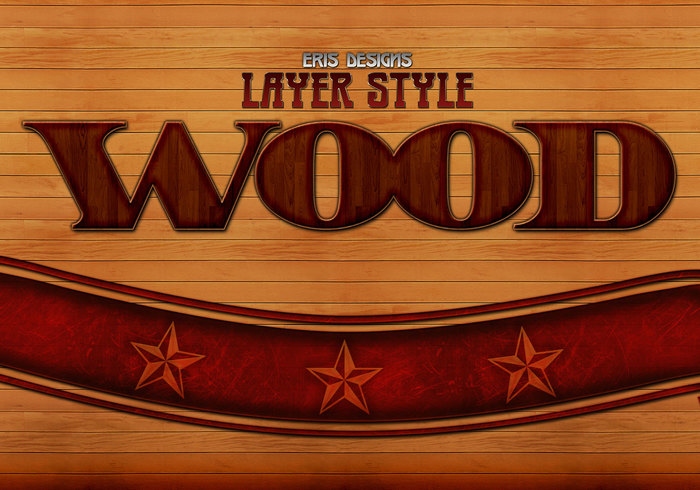 Estilos de capas de madera