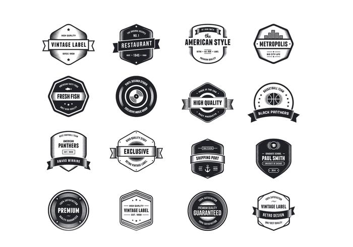 Vintage Logo PSD Pack Two - Free Photoshop Brushes at Brusheezy!