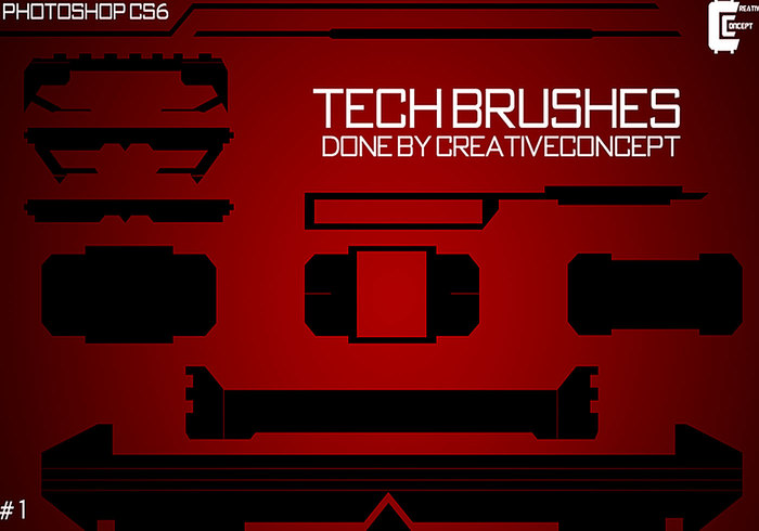 10 Tech Brushes