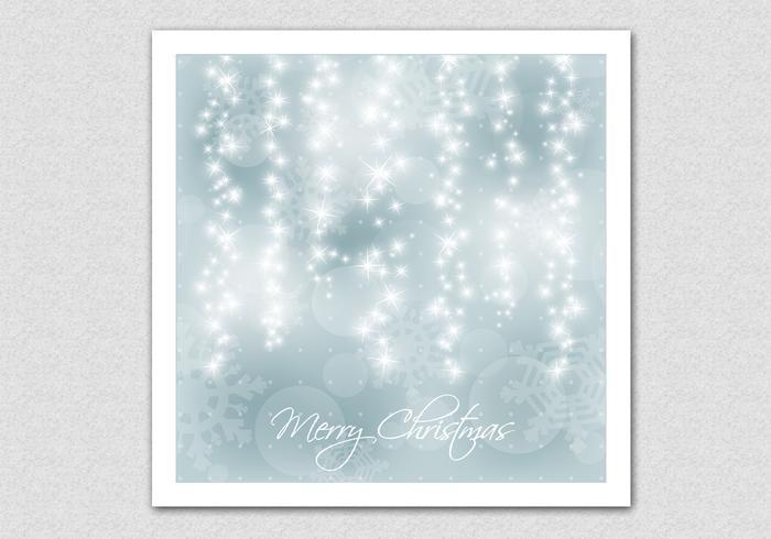 Sparkling bokeh christmas background