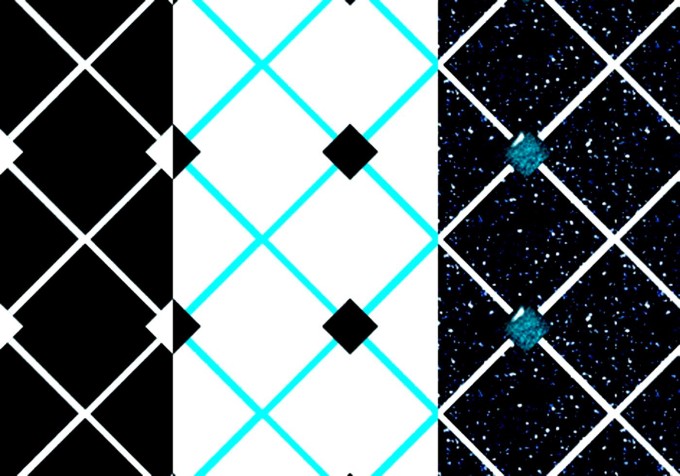 diamond pattern tile