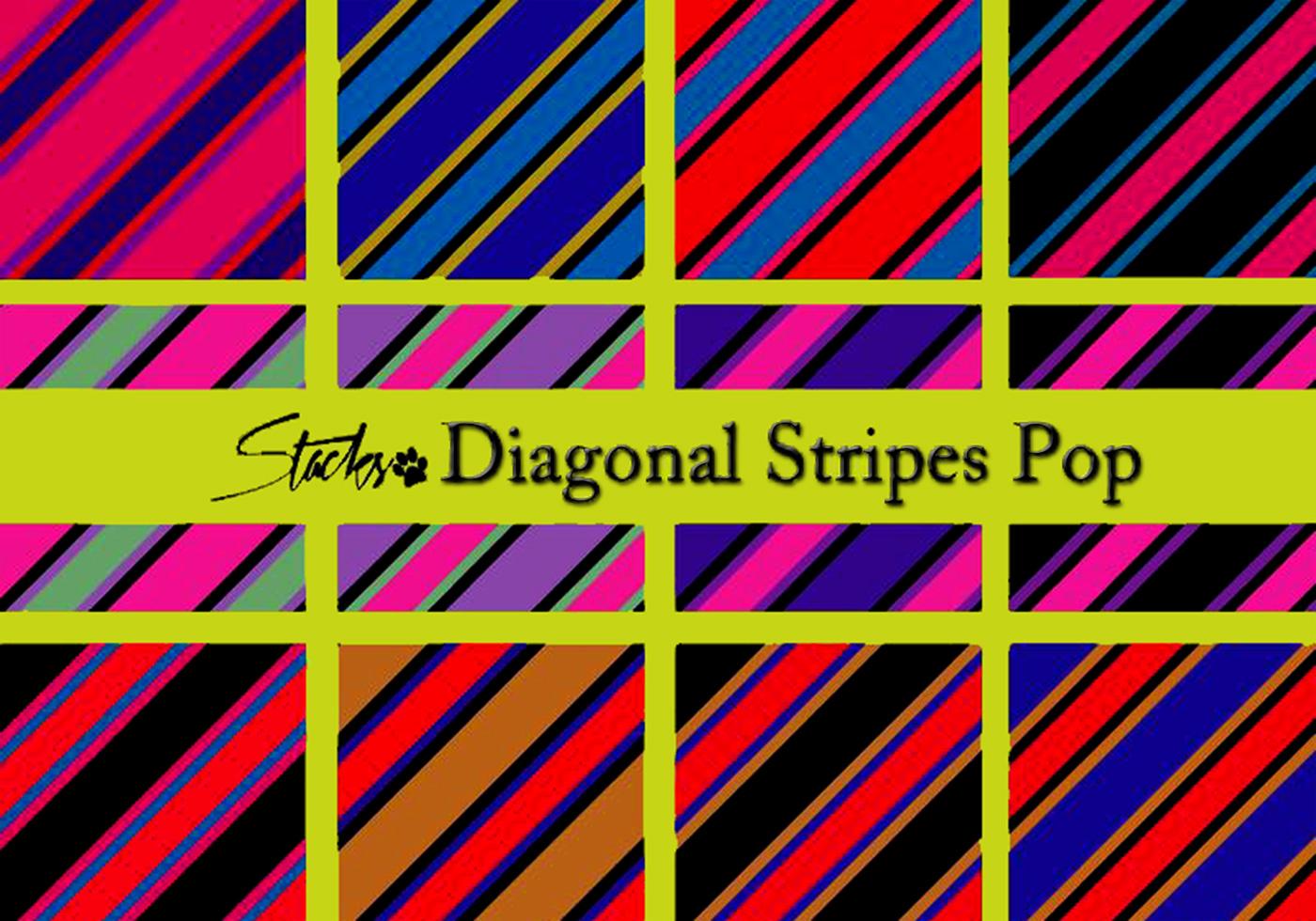 diagonal stripes pattern pop
