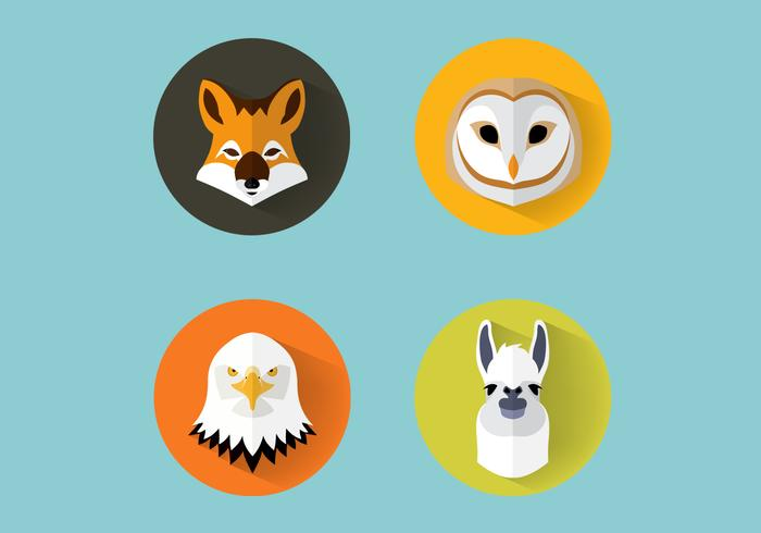 Animales PSD Set