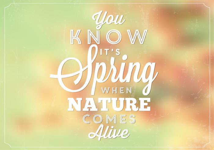 Bokeh spring nature psd background