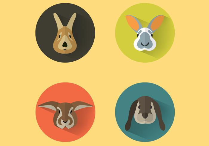 Bunny Portraits PSD