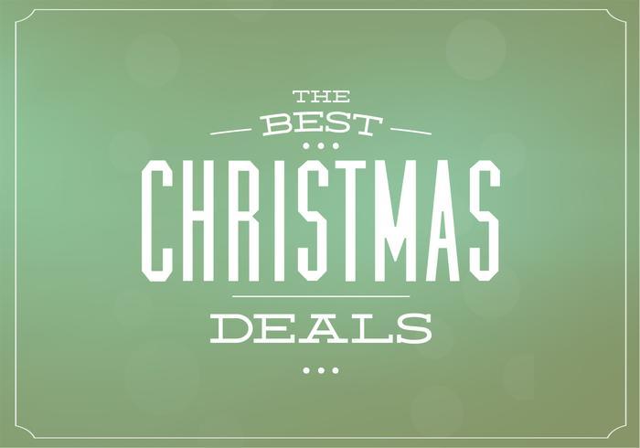 Christmas Deals PSD Background