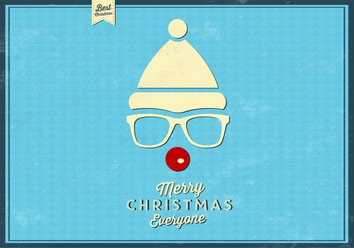 Hipster rudolph psd background