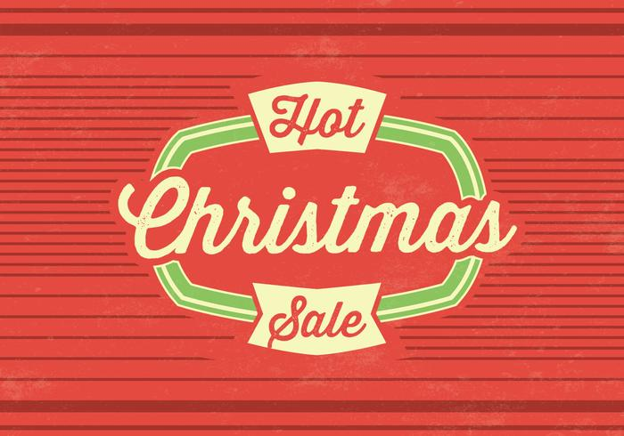 Hot Christmas Sale PSD Background