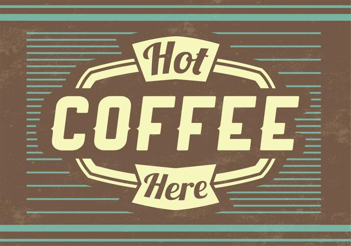 Hot Coffee PSD Hintergrund