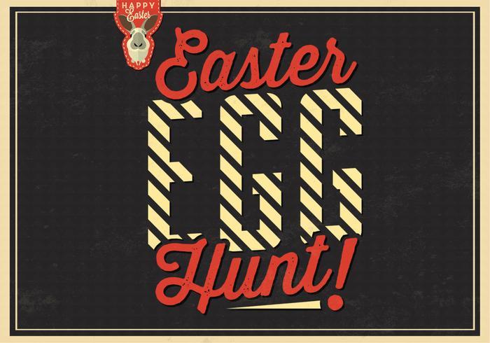 Contexte de PSD de Hunting Egg Hunt