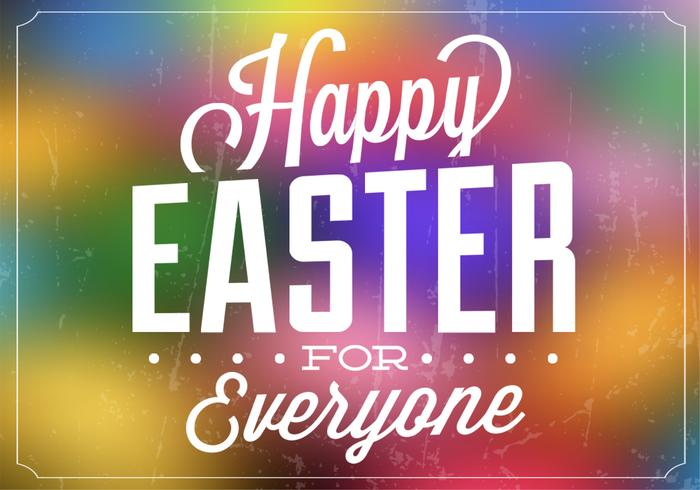 Bright Easter PSD Background
