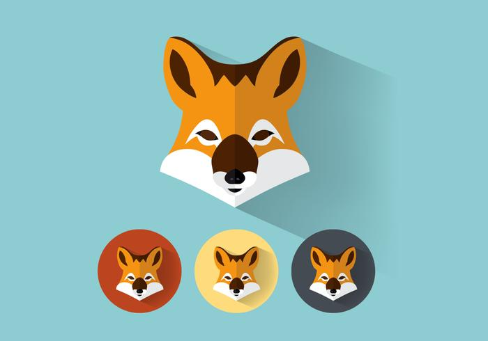 Fox Portraits PSD Set