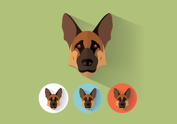 German Shepherd PSD Portraits