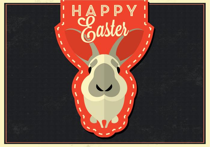 Fundo Happy Easter Bunny PSD